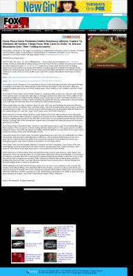 Forex Peace Army -  KTVG-TV FOX-17 / KSNB-TV FOX-4 (Kearney, NE) - Attracting Wealth