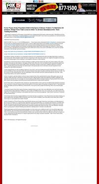 Forex Peace Army -  KVVU-TV FOX-5 (Las Vegas, NV) - Attracting Wealth