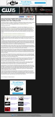 Forex Peace Army -  KXVO-TV CW-15 (Omaha, NE) - Attracting Wealth