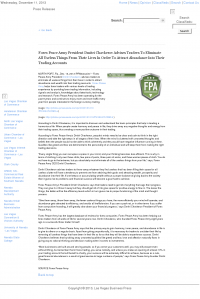 Forex Peace Army -  Las Vegas Business Press - Attracting Wealth