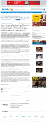 Forex Peace Army -  Lexington Herald-Leader (Lexington, KY) - Attracting Wealth