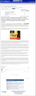 Forex Peace Army -  Long Beach Press-Telegram (Long Beach, CA) - Attracting Wealth