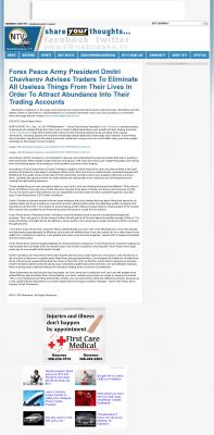 Forex Peace Army -  NebraskaTV (Kearney, NE) - Attracting Wealth