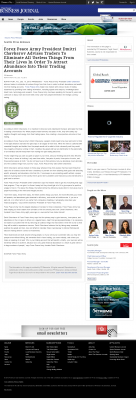 Forex Peace Army -  Puget Sound Business Journal - Attracting Wealth