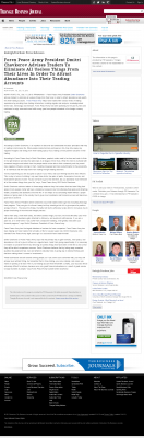 Forex Peace Army -  Triangle Business Journal - Attracting Wealth