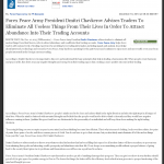 Forex Peace Army | Abundance and Wealth Attraction through Live Clean up – Tip in Value Investing News