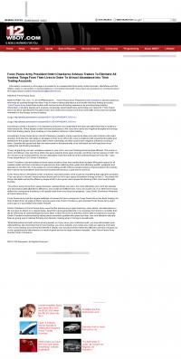 Forex Peace Army -  WBOY-TV NBC-12 (Clarksburg, WV) - Attracting Wealth