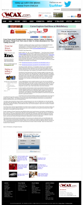Forex Peace Army -  WCAX CBS-3 (Burlington, VT) - Attracting Wealth