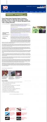 Forex Peace Army -  WISTV NBC-10 (Columbia, SC) - Attracting Wealth