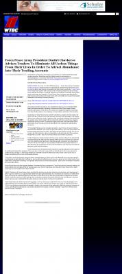 Forex Peace Army -  WTOC CBS-11 (Savannah, GA) - Attracting Wealth